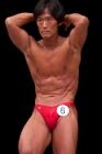 【2014東京オープン 40才以上級:FP】(6)石村恒司(43才/175cm/73kg/ボ歴:3年)
