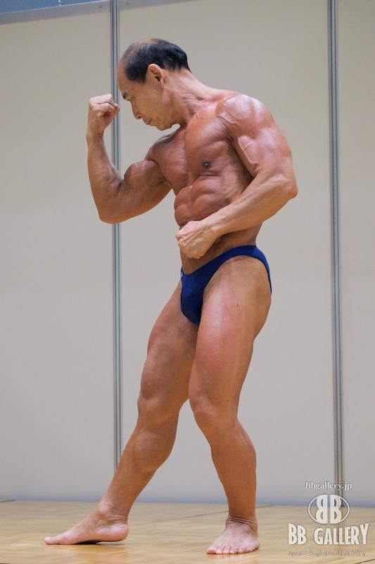 SPORTEC夏祭り2015:蜂須貢選手(2014日本マスターズ60才以上の部第4位)