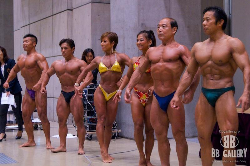 SPORTEC夏祭り2015:佐藤茂男選手、豊島悟選手、山野内里子選手、大澤直子選手、蜂須貢選手、村松幸大選手