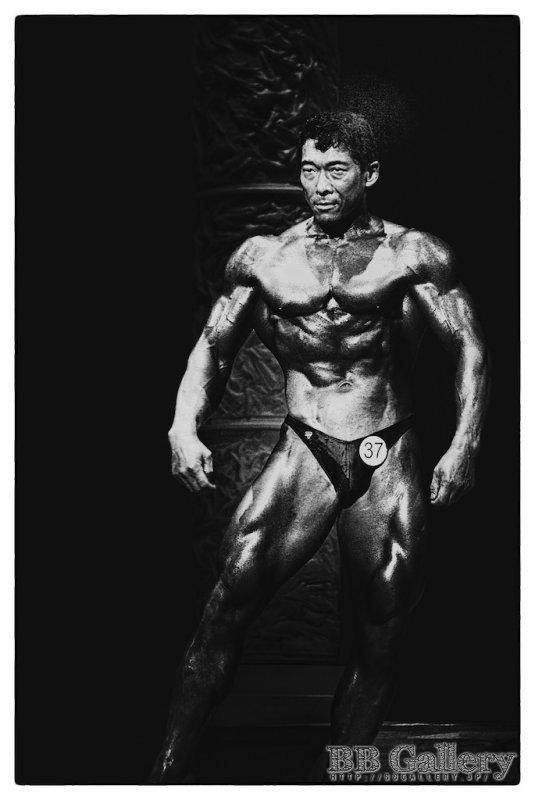 井上浩選手(2009年日本ボディビル選手権大会)