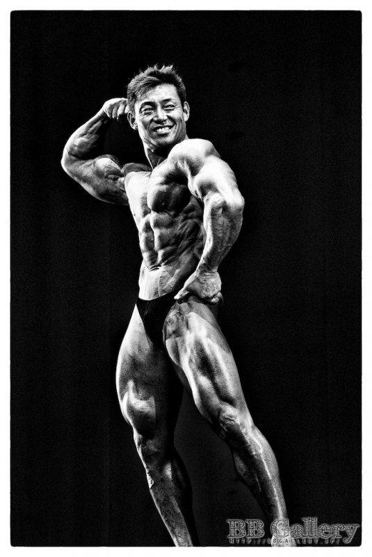 谷野義弘選手(2010年北区オープン ゲストポーズ)
