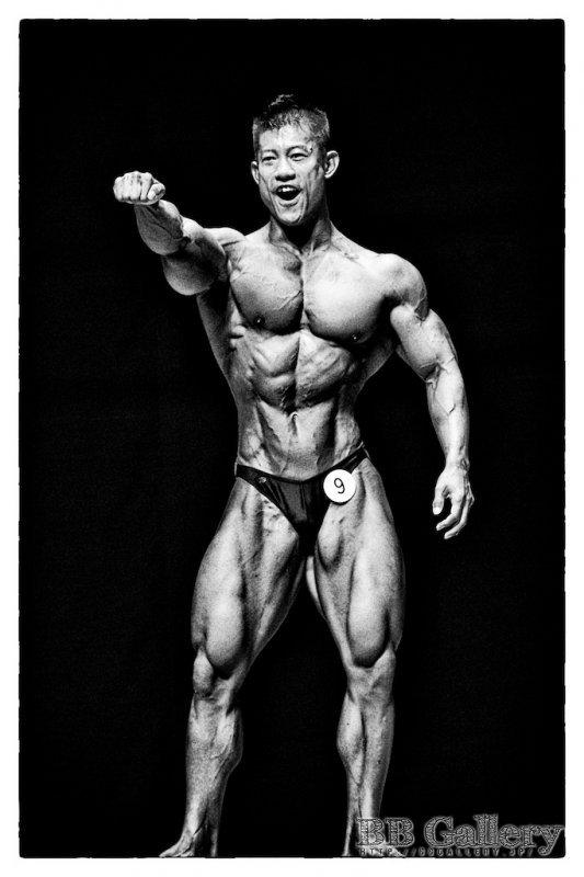 山田幸浩選手(2010年日本クラス別ボディビル選手権男子80キロ級)