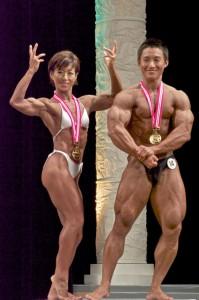 優勝:鈴木雅選手、山野内里子選手